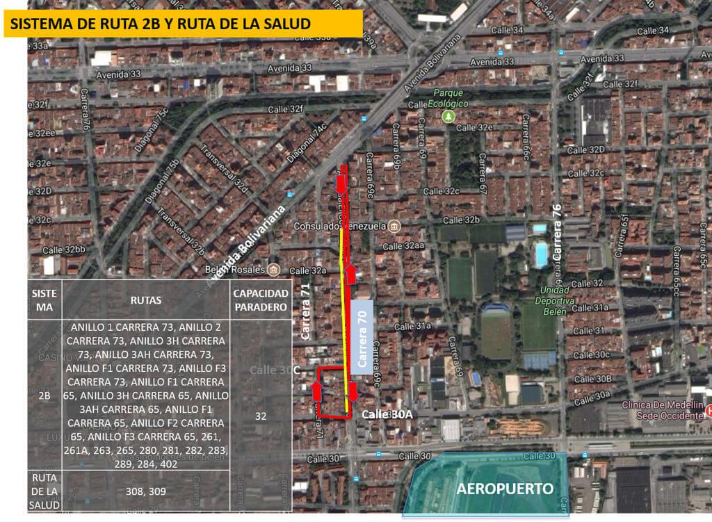 Cambios en rutas de bus Medellín por visita del Papa Francisco (5)