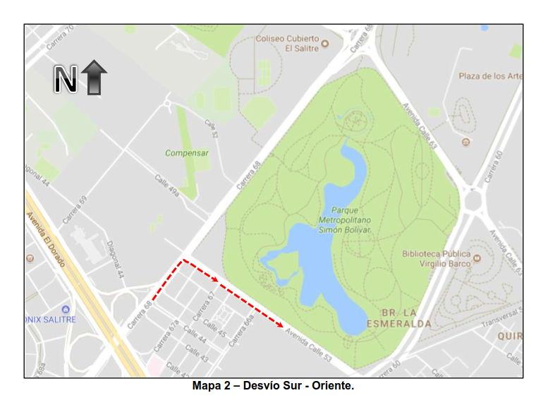 Mapa cierres por FESTIVAL SALSA AL PARQUE 2017 (2)