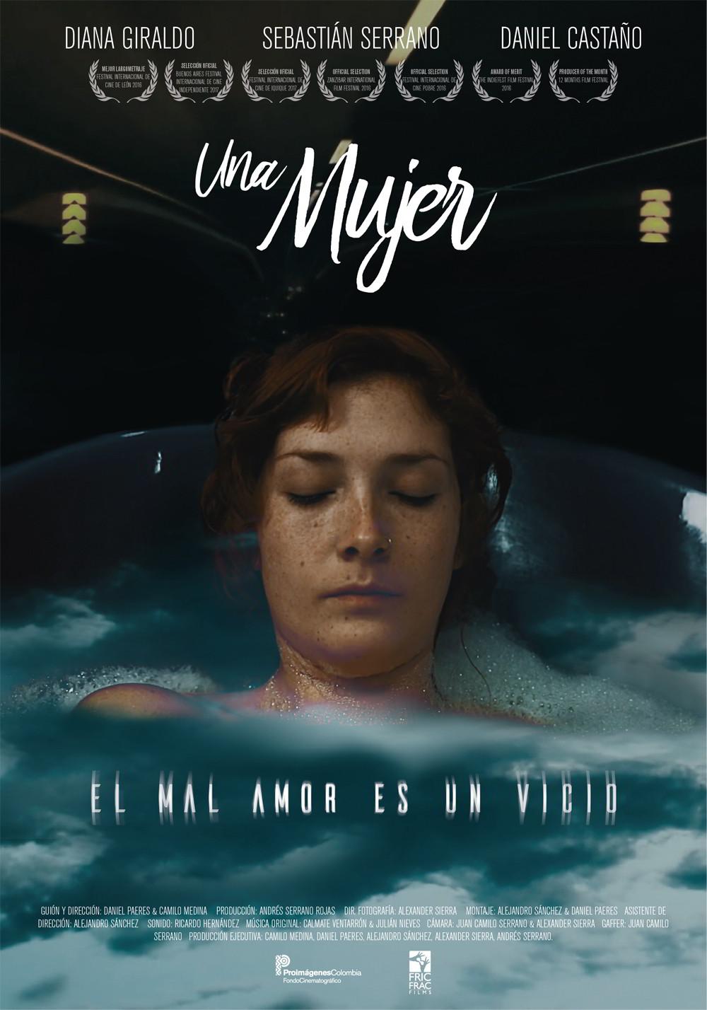 UNA MUJER - película colombiana