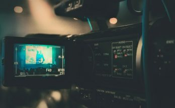 Cámara filmando