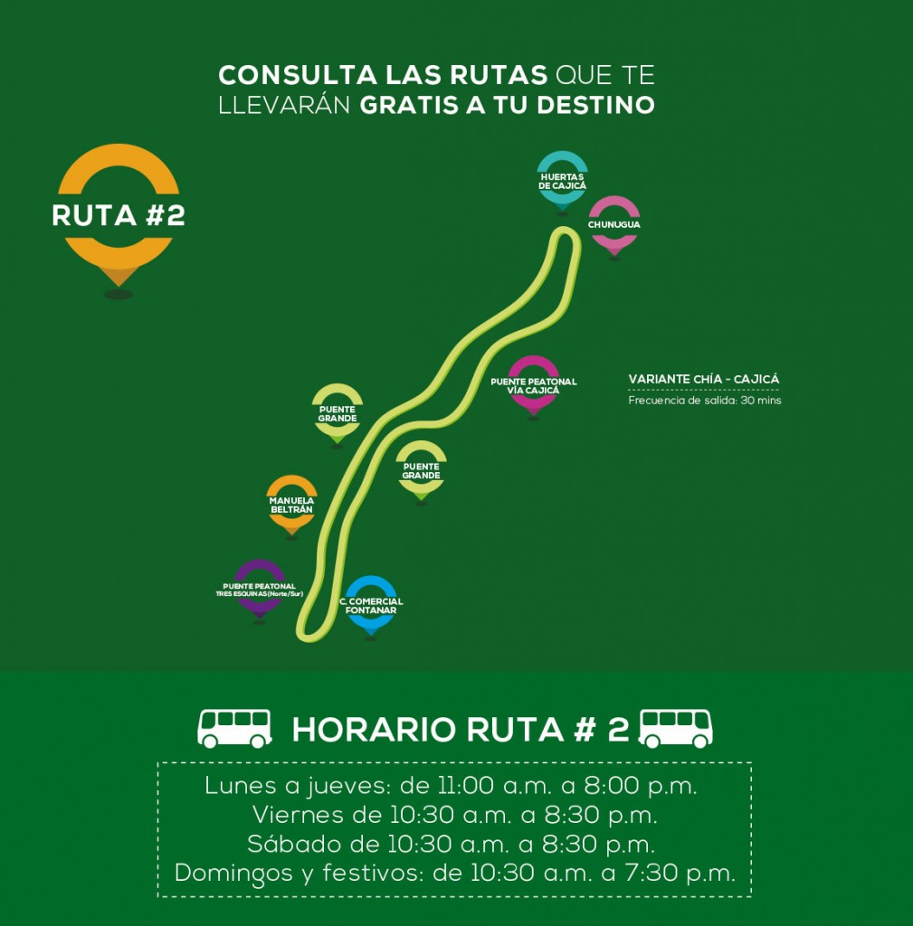 nueva ruta Express Huertas de Cajicá
