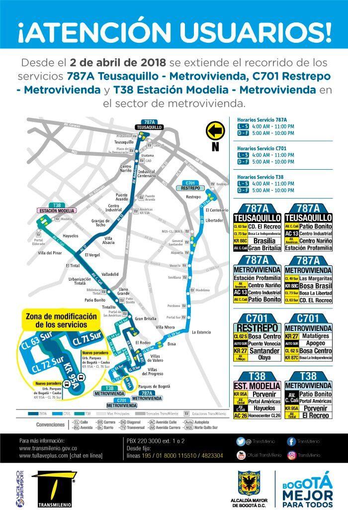 C701 extensión de la ruta en Campo Verde, localidad de Bosa