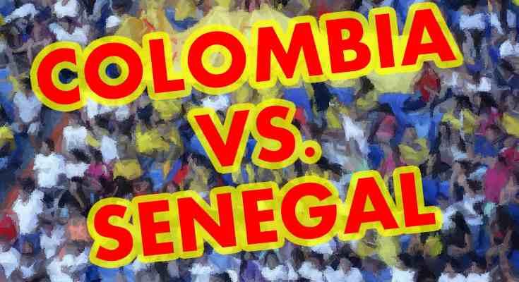 Partido Colombia vs. Senegal en pantalla grande