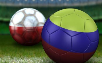 Balones Colombia vs Polonia