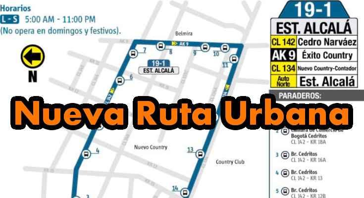 Aviso nueva urbana 19-1