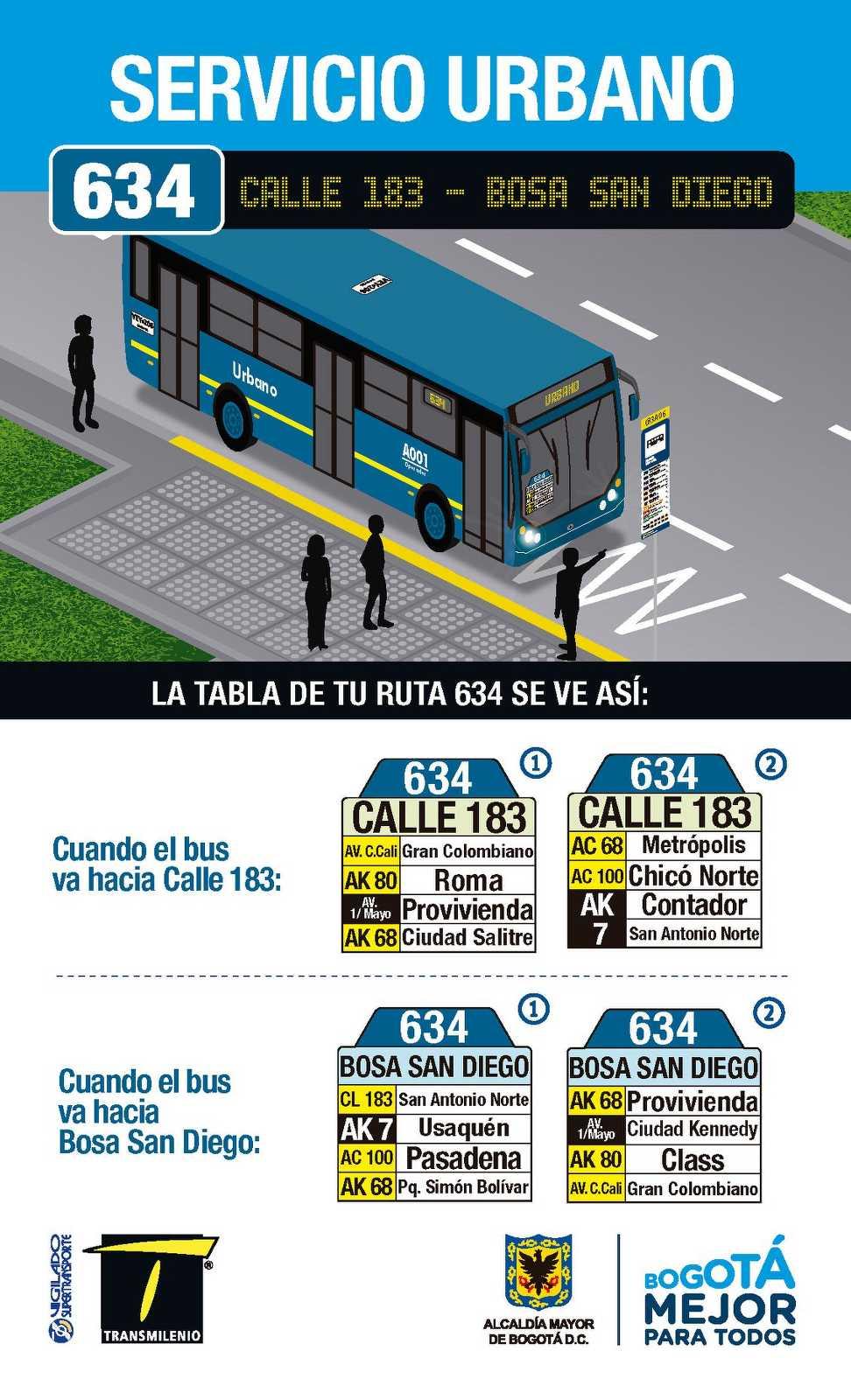 634 > Calle 183 - Bosa San Diego (volante cara A)