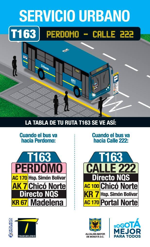 T163 > Calle 222 - Perdomo(volante informativo)
