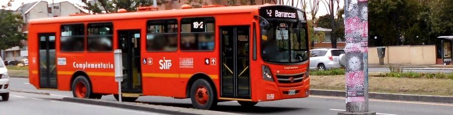 Bus ruta Complementaria