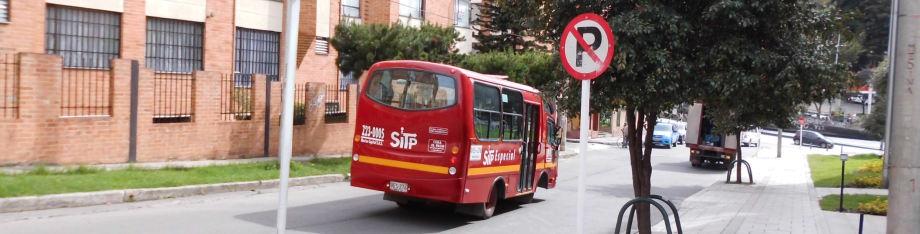 Bus ruta tipología Especial