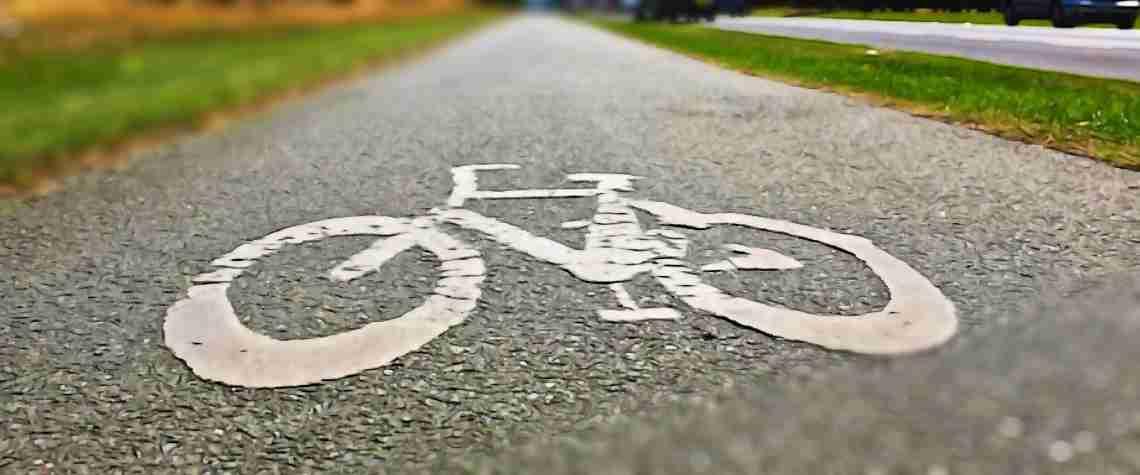 Señalización en vía para bicicletas