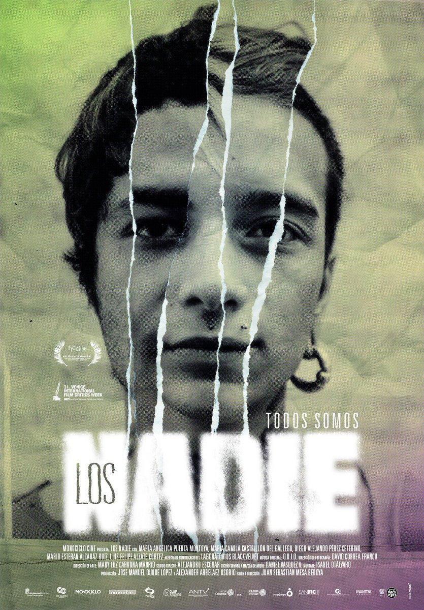Cartel película Los Nadie