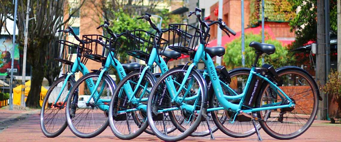 Bicis eléctricas de uso compartido (MUVO)