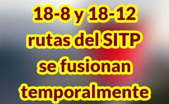 Rutas especiales del SITP se fusionan temporalmente