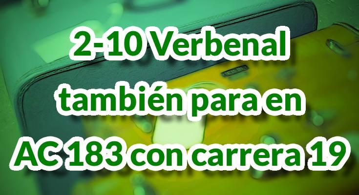 Ruta alimentadora 2-10 Verbenal también parará en AC 183 con carrera 19