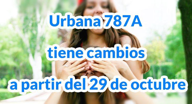 Aviso cambios ruta 787A > Metrovivienda - Teusaquillo
