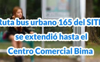 bus urbano 165 Calle 222 UDCA - Arborizadora Alta, mapa, horarios, vías principales