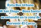Nuevo recorrido de la ruta urbana del SITP 188 San Diego - Bosa Santa Fe fue extendida