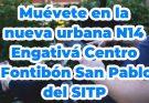 Nueva ruta bus SITP urbano N14 Engativá Centro - Fontibón San Pablo del SITP