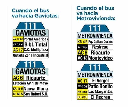 Tablas 111 Metrovivienda - San Rafael Sur Oriental