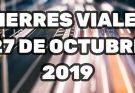 Cierres Viales 27 octubre de 2019