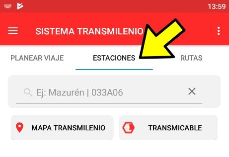 Horario real de paso de los buses del SITP - paso 4