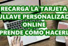 Recarga la tarjeta Tullave Personalizada online