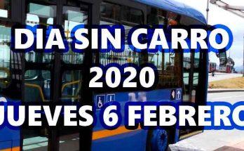 Día sin carro 6 de febrero 2020