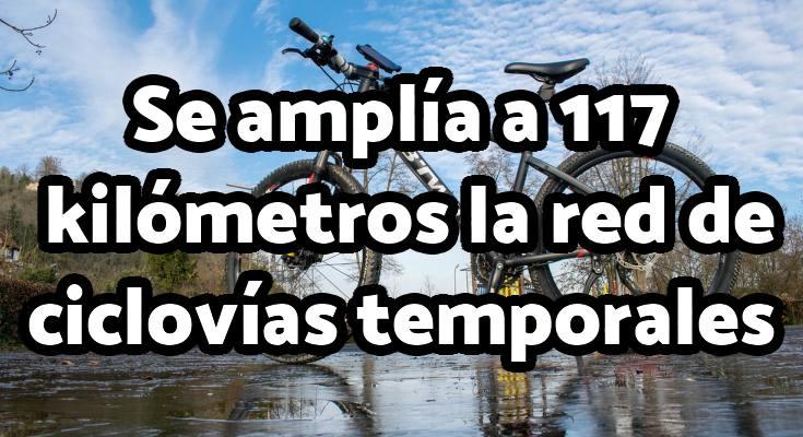 Aviso de amplicación de horario y kilómetros de la ciclovía temporal en Bogotá
