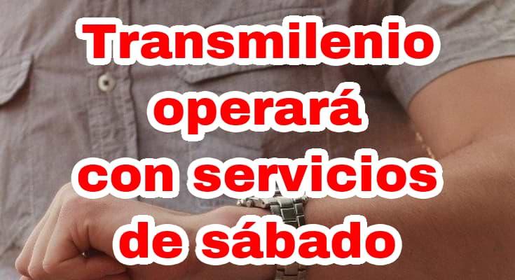 Cambios de operación en Transmilenio por emergencia sanitaria