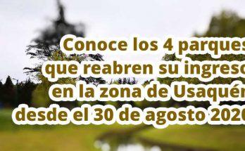 4 parques que abren sus puertas en Usaquén